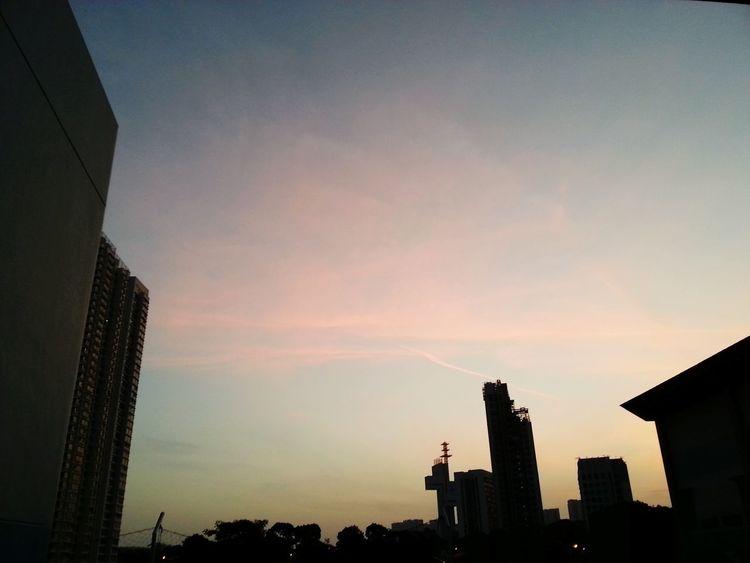 First Post♡ Followers Building Photography Photo Sky Sunset Magic Hour Magicsky Magic Magical