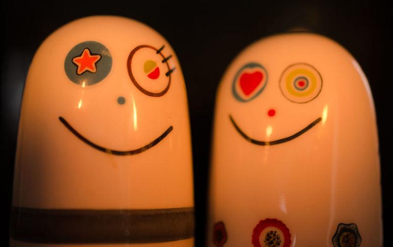 Gegenstände Muffineer Salzstreuer Smile