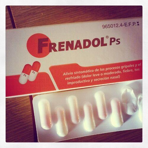 Soy felizzz!!! Frenadol en pastillas!!! XD MyDay Frenadol Studying
