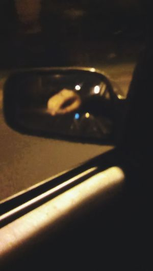 Normality is a paved road: it's comfortable to walk, but no flowers grow. VincentVanGogh Quote Quotesaboutlife Quotes & Poems Car Side-view Mirror Mirror Reflection Hand Latenightdrives Nightlife Nightlights EyeEmNewHere