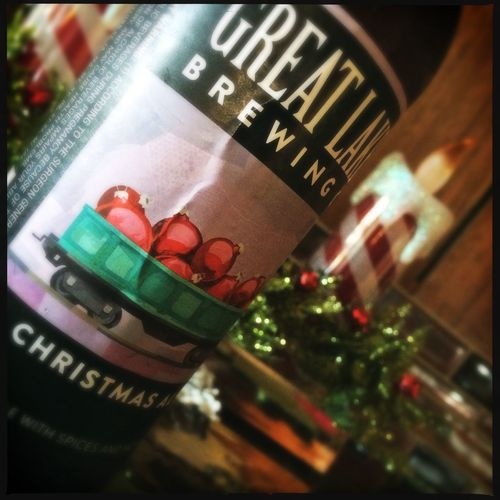 Great Lakes Brewing Christmas Ale Beer Merry Christmas To Me Christmas Eve