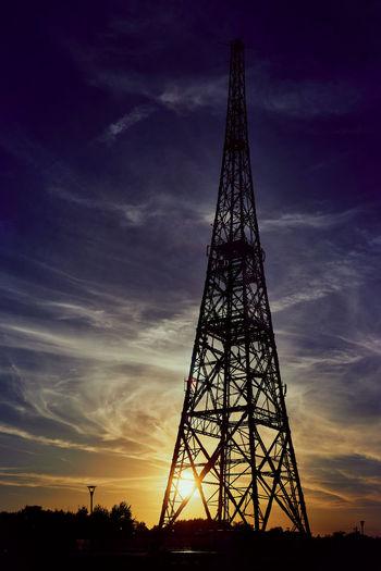 Old radio tower