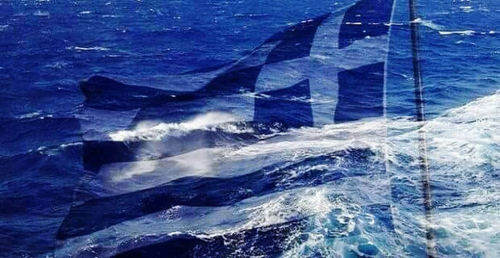 May the GODS OF THE OLYMP put a mind into the people's greek head...OXI... Flag National Flag Greece Proud To Be Greek From My Point Of View Tadaa Community