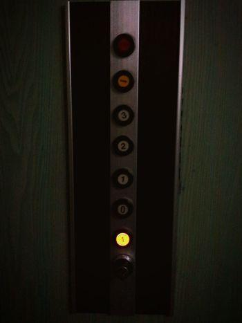 Elevator In The Elevator Elevator Button