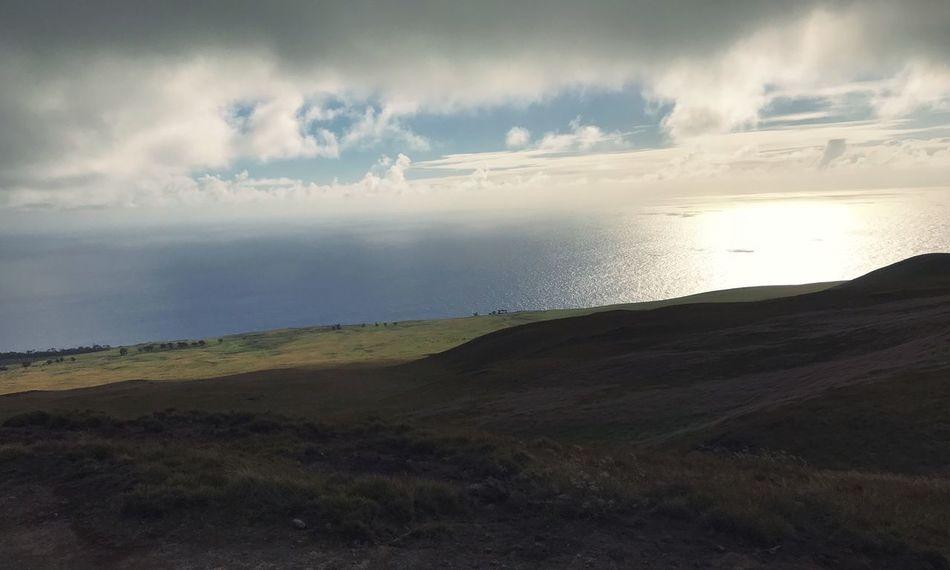 Pacific Ocean Terevaca Easter Island Isla De Pascua Sky Cloud - Sky Beauty In Nature Scenics - Nature Water