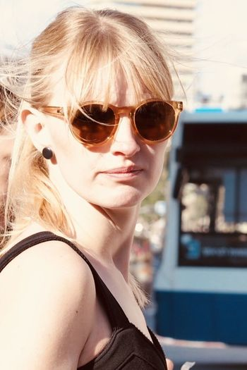 Iwantthatcamera Hair Glasses Fashion Sunglasses Portrait One Person Blond Hair Headshot Women Hair Adult Beautiful Woman Young Adult Looking At Camera Hairstyle Lifestyles