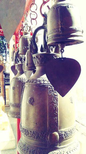 Monk's Bells At Wat Khanon Thailand Rachaburi Chilling Amarachachillinama