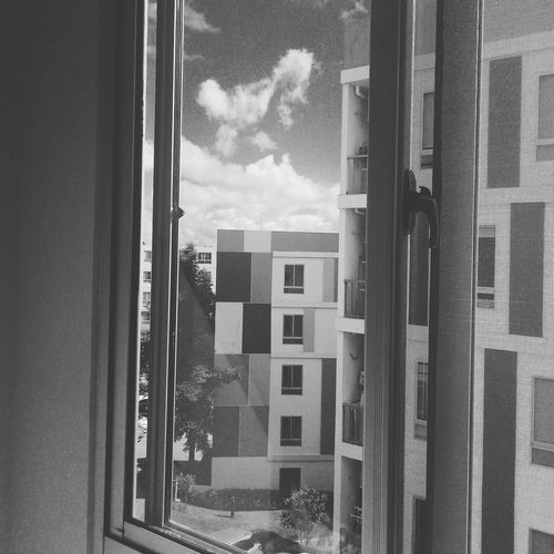 Out of window