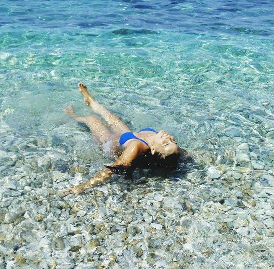 Portoferraio Spiaggia Sole Mare Bagno Relaxing Hello World EyeEm Cheese! Blue Sea Sassi Elba