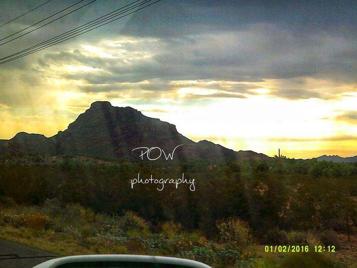 POWphotography Perksofawallflowerphotography Clouds Cloudy Day Fountainhills Nature Arizona AZ Photo Photograph Photography Photographer Camera Mountain Sunset Sky Landscape Cloud - Sky Mountain Range