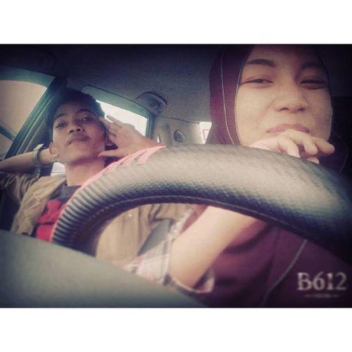 Hari Ni Abang Boyoi Keluar Bersama My Beloved Wife Nabilah Zamaluddin...Hehehehe✌✌....💍... AbangBoyoi SayangUncit Alifilah Candid