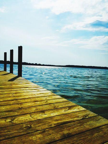 Enjoying Life From My Point Of View Dock Lake View Lake Lakes  Taking Photos Michigan Puremichigan