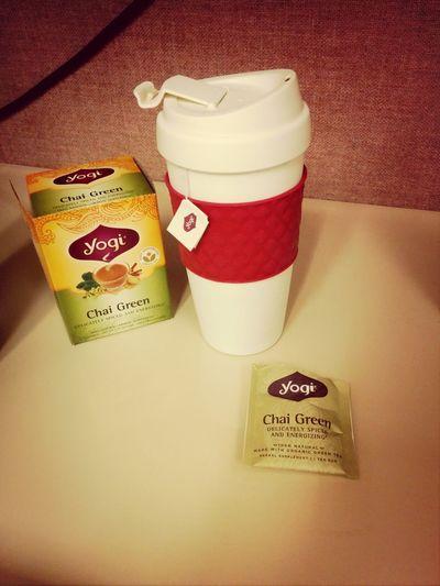 chai green tea to start the day Tea