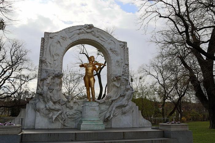 Europe Europe Trip Eurotrip Johann Strauss Music Musician Park Statue Vienna Wien Wien Vienna
