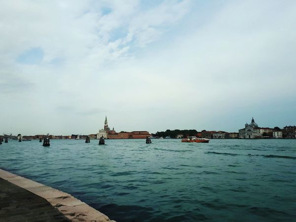 Canal Grande in Venice Premium Collection Church Canalview Waterscape Sonnig Sunny Old Buildings Venice, Italy Venezia ARTfoxHH City Water Sea Nautical Vessel Commercial Dock Harbor Sailing Ship Tall Ship Cityscape Sky Boat #urbanana: The Urban Playground EyeEmNewHere HUAWEI Photo Award: After Dark