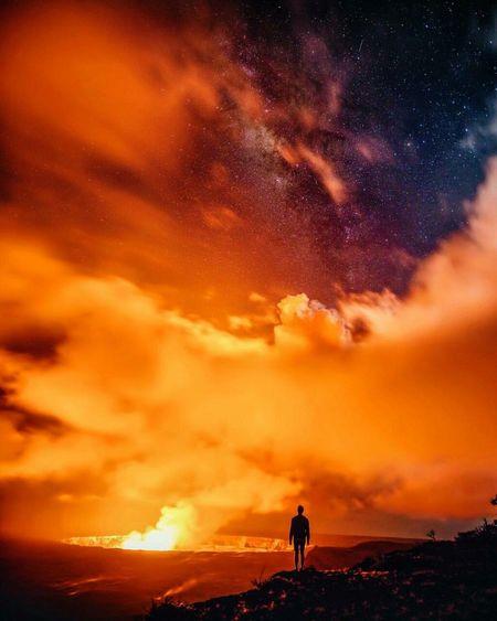 Volcanoes Taking Photos Hello World My Smartphone Life