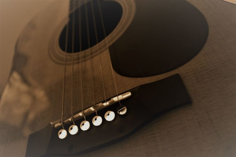 Music Accoustic Guitar Musical Instrument Arts Culture And Entertainment Musical Instrument String Indoors  No People Guitar Musical Equipment Close-up Guitar Body Musical Notes Wood Fret Board Amplifier Rock Jazz Country Finger Style