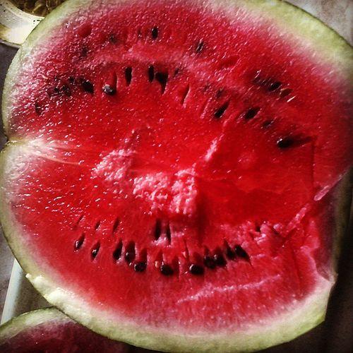 Арбуз сочный_арбуз ягода Watermelon Berries Food Nature Delicious Gustoso
