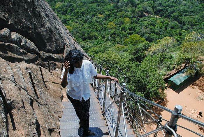 sigiriya 1200 steps!! Sri Lanka Sigriya Sigriya Rock King Ravana's Palace Sigiriya, Sri Lanka,Asia,Travel,Explore, Traveler, Lion Rock, Sigiriya Rock Sigiriya Tree Water Standing Casual Clothing