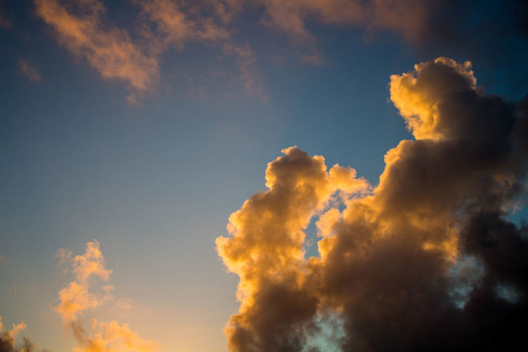 Beauty In Nature Blue Cloud Cloud - Sky Cloudscape Countryside Evening EyeEm Best Shots Full Frame Hachijo-island Nature No People OpenEdit Orange Color Outdoors Photography Reflection Scenics Sky Sky Only Sunset