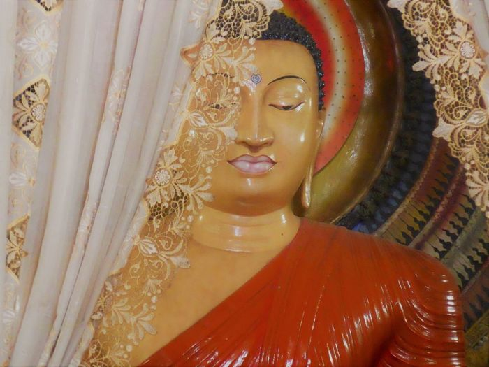 Buddha Image Sri Lanka Worship Art And Craft Buddha Statue Buddhism Close-up Human Representation Idol Kataragama Religion Sculpture Spirituality Sri Lanka Temple Statue