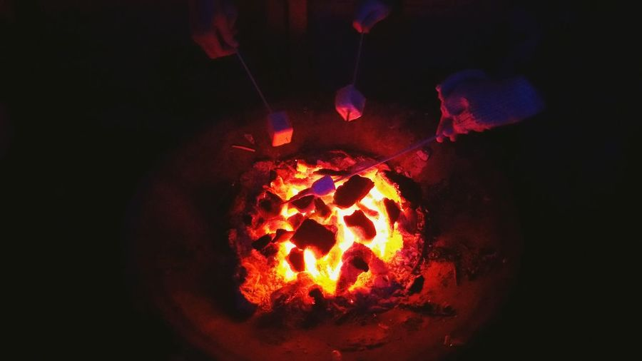 The Culture Of The Holidays Cities At Night Marshmallow Time Keeping Warm Learn & Shoot: After Dark Fire And Shadow Fire And Heat Marshmallow Sticks Marshmallow Heating Heating Up Marshmallows Near The Fire Near The Heat Warming By The Fire Warming Up Warming Up By The Fire