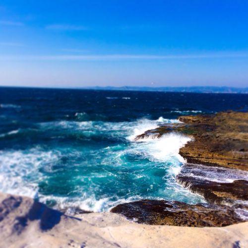 和歌山県の旅乁( ˙ω˙ 乁) 海綺麗やったー!