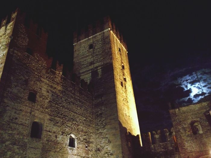 Cities At Night Castle Marostica