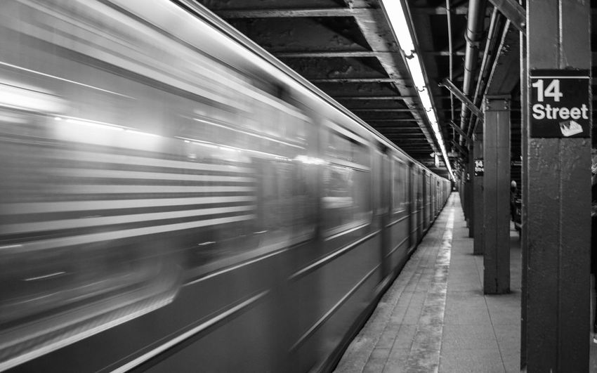 14 Street Manhattan Manhattan new york NYC NYC LIFE ♥ NYC Photography New York City Travel Travel Photography bigapple blurred motion newyork newyorkcity no people nycsubway on the EyeEmNewHere 14 Street Manhattan Manhattan New York NYC NYC LIFE ♥ NYC Photography New York City Travel Travel Photography Bigapple Blurred Motion Newyork Newyorkcity No People Nycsubway Passenger Train Railroad Station Railroad Station Platform Speed Subway Train Train Travel Urbanphotography Wonderlust The Traveler - 2018 EyeEm Awards