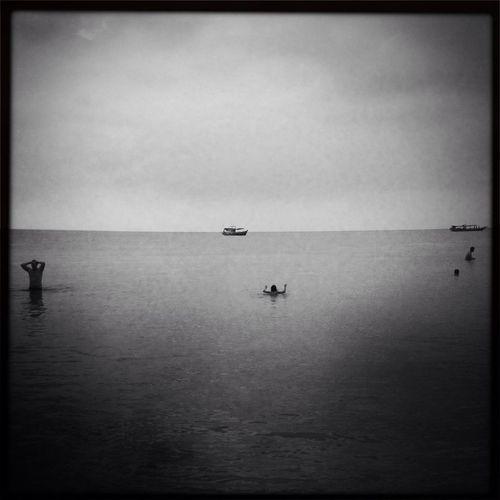 Waterfront Blackandwhite