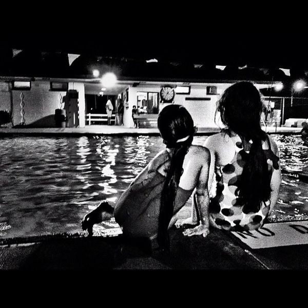 Done for the night Play Swimming Children Mcallen People