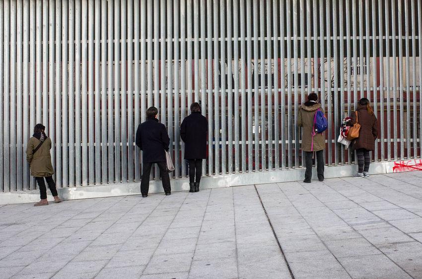 Madrid The Street Photographer - 2018 EyeEm Awards TheWeekOnEyeEM UNPOSED Fotogenik Collective Group Of People Street Street Photography Streetphotography Waiting