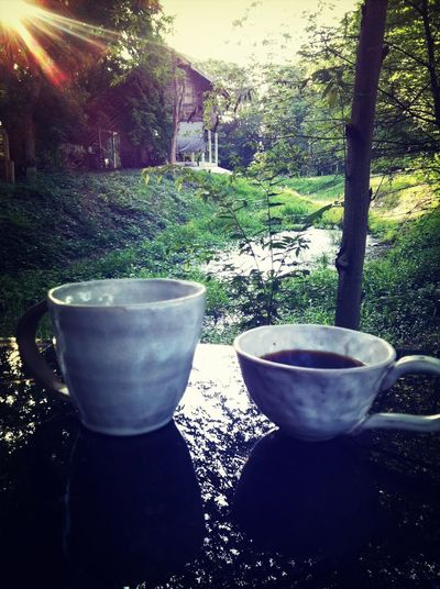 Good morning Hello World Relaxing Coffee Morning