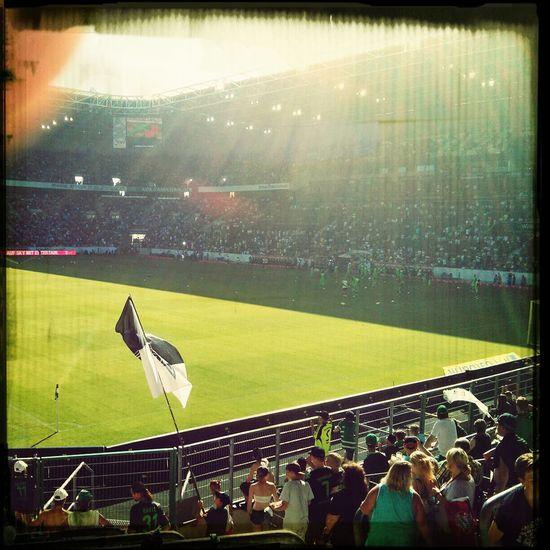 Mönchengladbach Soccer Fans