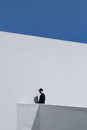 On the edge Athens Minimalist Minimalist Architecture Minimal Architectural Feature Architecture_collection Architectural Column Architecture Simplicity Is Beauty. Shadows & Lights Minimalism EyeEm Gallery The Week on EyeEm The Week Of Eyeem Eye4photography  EyeEm Selects Architecture Sky Copy Space Nature Day Blue Clear Sky Built Structure Outdoors Wall - Building Feature Concrete Sunny The Minimalist - 2019 EyeEm Awards The Architect - 2019 EyeEm Awards