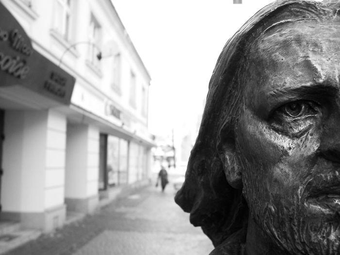 Nalepa Pokojartura Arturhippe Rzeszów Poland Deptak Outdoors Men Close-up Portrait Day Mime