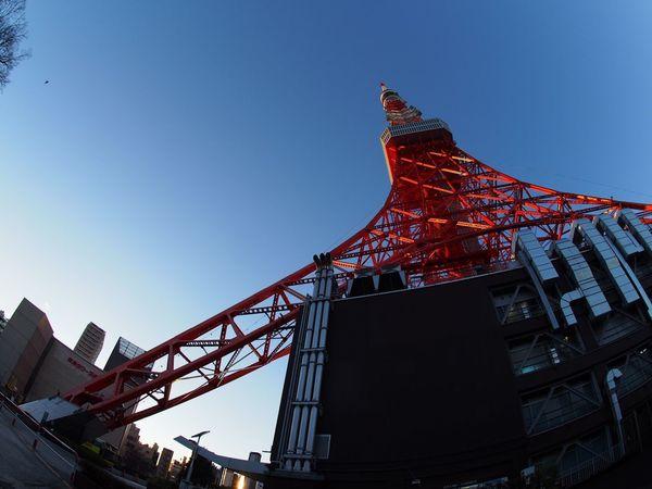 2016.01.18 東京タワー 魚眼レンズ