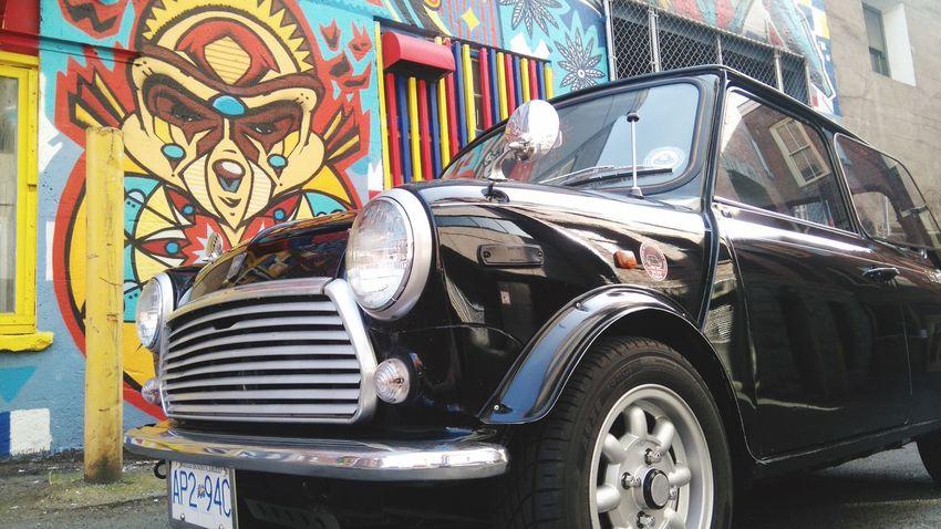 Austin mini Austin Mini Graffiti Taking Photos Cheese! Hanging Out