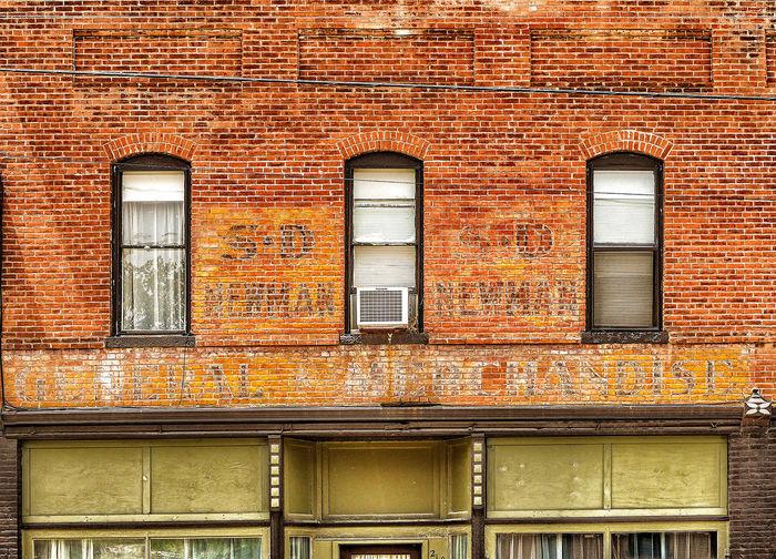 S.D. NEWMAN ~ Dearborn, Missouri ~ Roadside America Ghost Signs  Divelandscape, Divestreetoghrophy, Cityscape, Vintage Signs