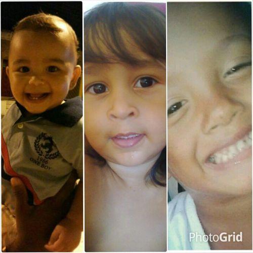 Feliz dia das crianças pra vcs que seempre conseguem arrancar o meu melhor sorriso. Pra vcs que dispertam o meu melhor sentimento. O MEU AMOR!! Henzo Rebeca Gabriel