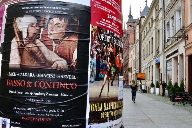 Eastern Europe Poland Poznań Event Posters Historical Place Sightseeing Street Scene Tourist Destination
