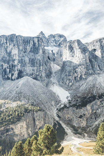 Val Badia... Dolomites Trekking Alps Cloud - Sky Environment Eroded Formation Italy Landscape Mountain Mountain Peak Mountain Range Non-urban Scene Rock Rock Formation Scenics - Nature Sky Solid