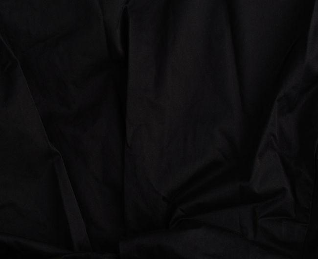 Full frame shot of black textile