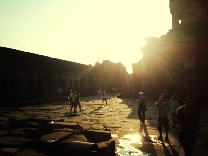 EyeEm Best Shots - Sunsets + Sunrise Angkor Wat On Top Of The World Temple Run 2 -iphone