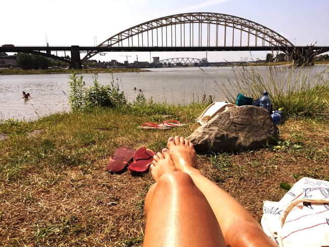 Capturing Freedom Waalbrug Nijmegen Relaxing one of my favorite spots with a beautiful view Enjoying The View
