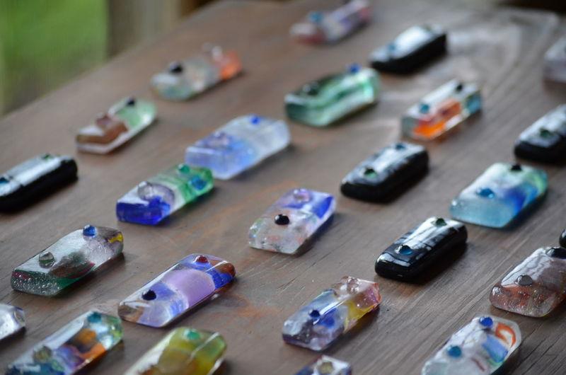 Antique Beautiful Glass Japan KAWAII Retro カラス