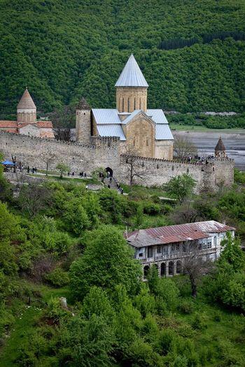 Georgia Ananuri Architecture Travel