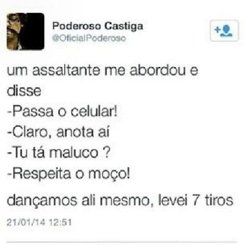 Castiga Twitter PanicoNaBand Humor piada engraçado