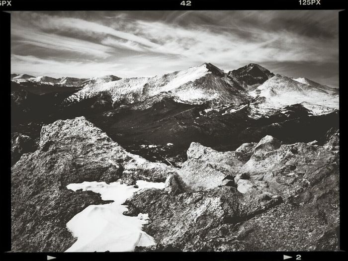 Longs Peak Rocky Mountain National Park Capa Filter