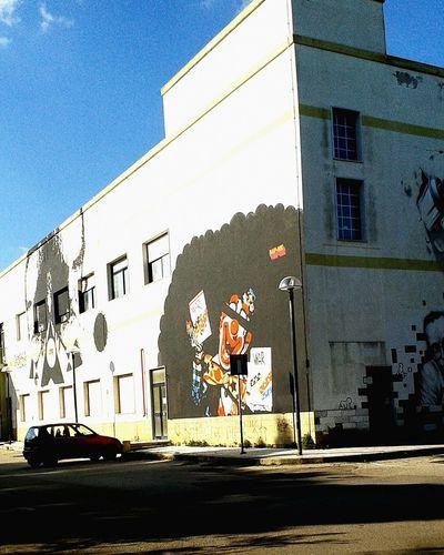 Murales Taking Photos Murales Sunshine Pagliaccio Arte Street Art Graffiti Art Periferia